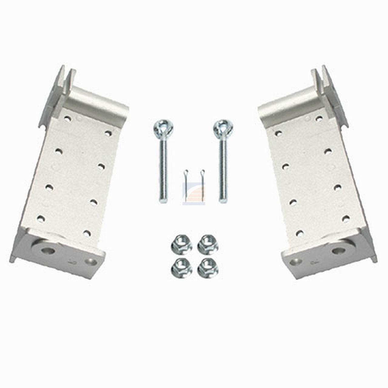Bodemconsole aluminium verstelbaar
