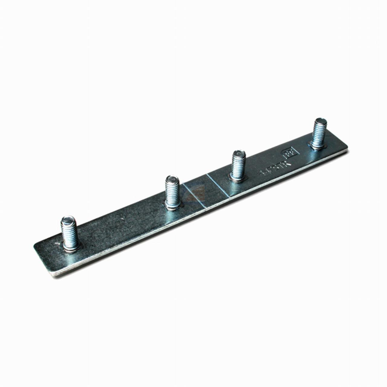 Bevestigingsstrip voor 70mm zijscharnieren (dubbel)