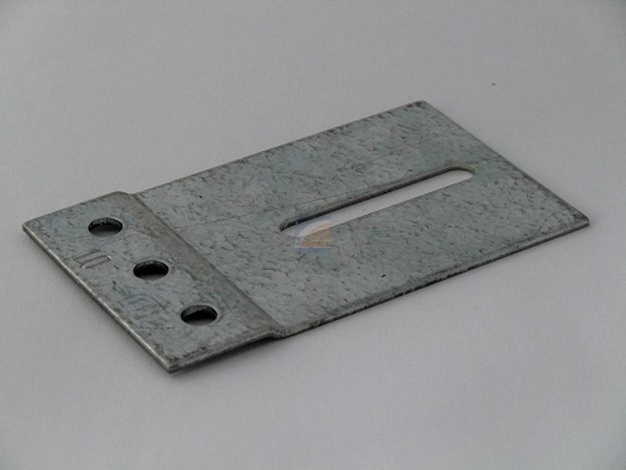 Railplaat 60x100mm