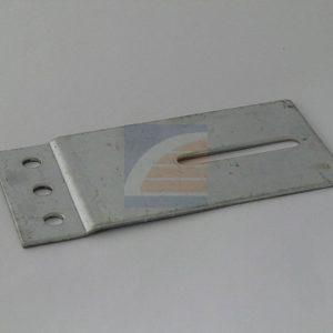Railplaat 60x120mm