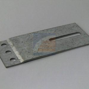 Railplaat 60x130mm