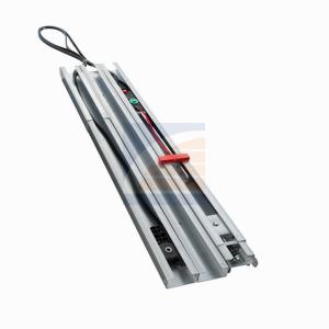 3-delige rails met tandriem voor deurhoogte tot 2300mm
